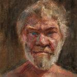 Автопортрет №3 2008 х.м. 39х28